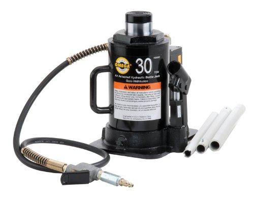 Omega 18302C negro hidráulico botella JACK–30toneladas capacidad
