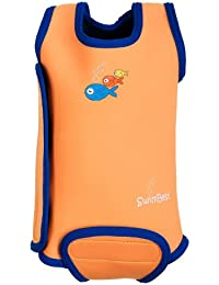 SwimBest Baby Wetsuit/Baby Warmer Wrap Keeps Baby Warm In Water Girls & Boys - 0-6, 6-12 & 12-24 Months