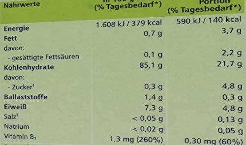 Hipp Bio-Getreide-Breie ungesüßt, 100% Reis, glutenfrei, 6er Pack (6 x 200 g)