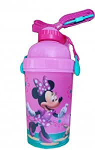 Disney Minnie Mouse Flip Top Flask Water Bottle
