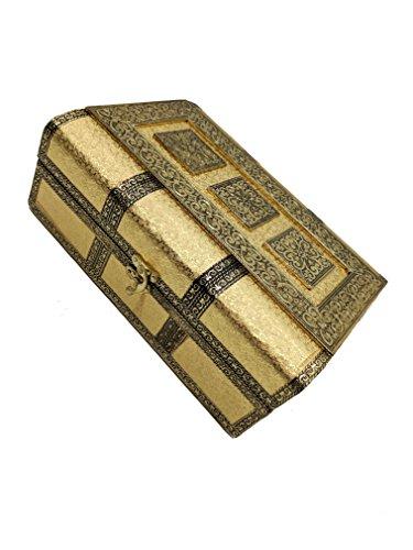 Sarangware-Wooden-Oxidised-Bangle-Box-Gold