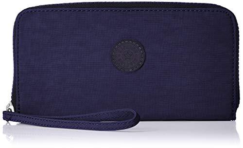 Blaue Damen Geldbörse (Kipling Damen Alia Geldbörse, Blau (Active Blue), 19x10x2 cm)