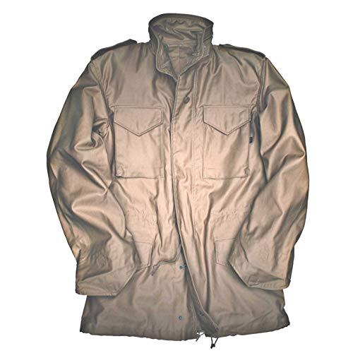 Alpha Industries M-65 Field Jacket original Army Nyco Satin, Größe:XL, Farbe:Khaki -