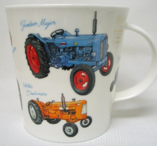"DUNOON Becher Cairngorm Motiv ""CLASSIC CONNECTION – TRACTORS"""