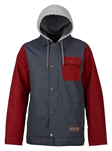 Burton Dunmore Jacket Denim/Fired Brick (Down Jacket Burton)