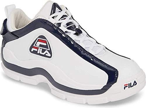 Fila 96 Low Sneaker Herren, (Weiß/Marineblau/Rot), 42 EU