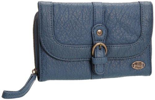 Roxy Geldbörsen Wallets (Roxy - WALLETS - THE CANDYLAND WRWWT042-CTB, Damen Geldbörsen, Blau (CADET BLUE), 11x18x2 cm (B x H x T))