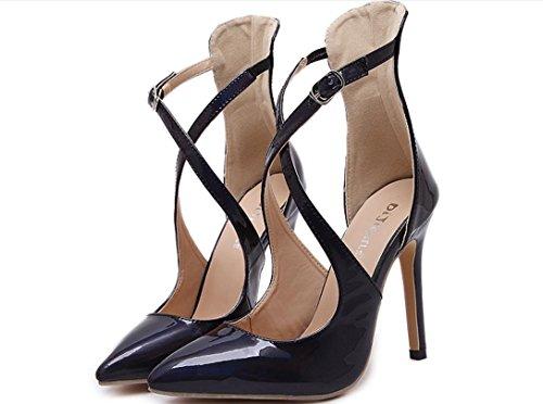 AOOAR - Clásico Mujer , color negro, talla 35 EU