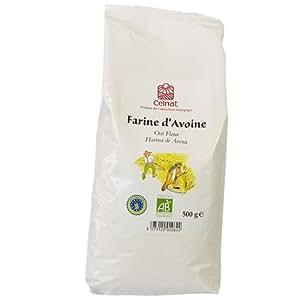 Celnat - Farine d'Avoine - Sans Gluten - Ab - Cuisine Patisserie - 500 G