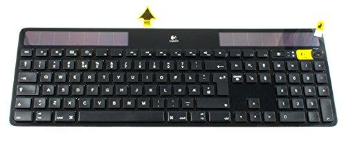 Logitech Wireless Solar Keyboard K750 for Mac with Norwegian Layout 920-003485 (BLACK)