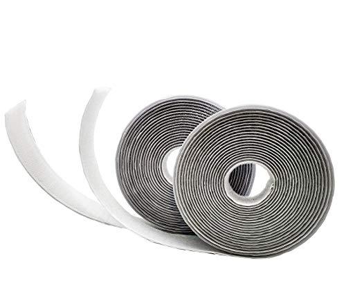 cuscinetti di fissaggio in tessuto ZhenS con velcro autoadesivo nastro biadesivo riutilizzabile resistente e impermeabile