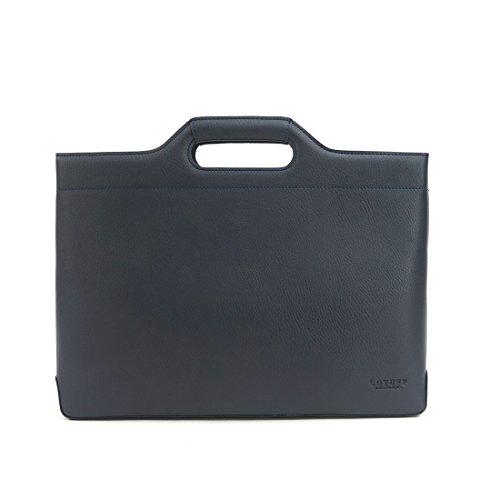 LOTUFF ,  Aktentasche schwarz schwarz navy