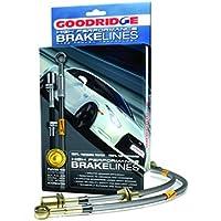 Goodridge svw0506–2P Acero Inoxidable Trenzado Freno Líneas