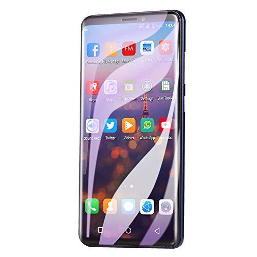 CHOULI Android Smartphone Gesichtserkennung pro 5,72 Zoll Dual Card 512 + 4G Blau