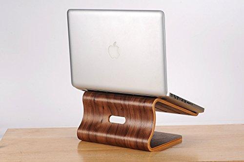 eimolife ® ambientale Hollow fuori bambù creativo portatile tavolo radiatore si adatta per computer portatili come Apple, DELL, HP, Lenovo, ASUS, fondatore, TCL, Acer, Hasee, Sony