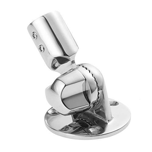 Mgoodoo 1 x 22 mm Marine Grade Edelstahl VHF Antenne Ratsche Basis Halterung für Boot -