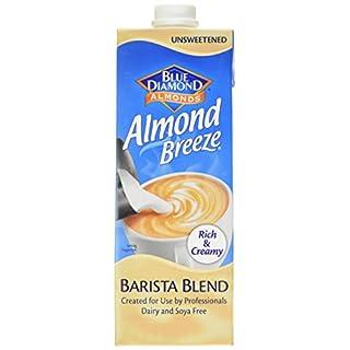 Blue Diamond Almonds Breeze Barista Blend, 1 Litre, Pack of 8