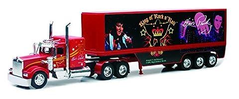 Diecast Kenworth Elvis Truck - The Blue Suede 1:32