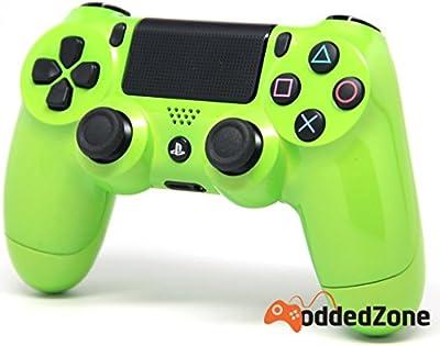 Lime Green Ps4 Modded Controller 35 mods BO2, BO3, Advanced Warfare, Destiny, Ghosts, MW3 Rapid Fire QUICKSCOPE, JITTER, DROP SHOT, AUTO AIM ZOMBIE