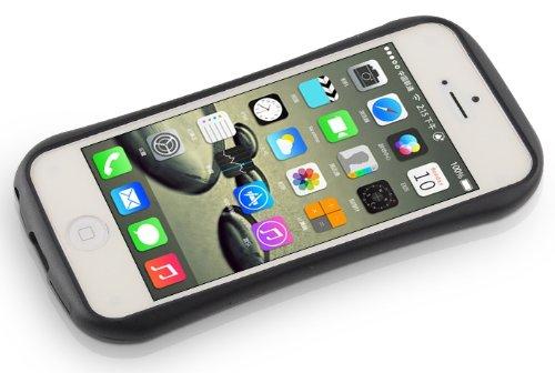 JAMMYLIZARD | Hülle für [ iPhone 5 / 5s und iPhone SE ] mit Retro Labyrinth Spiel, BLAU / ROT iCurve - GELB