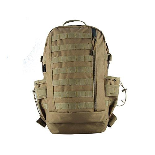 Imagen de yakeda®alpinismo al aire libre los hombres y las mujeres del bolso de hombro la  que montan los fans bolsa de senderismo táctica ventiladores militares paquete 3d bolso del paquete de múltiples funciones del ejército paquete táctico paquete montar