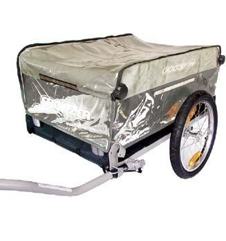 Croozer Regenverdeck für Cargo Fahrradanhänger, RaincoverCargo