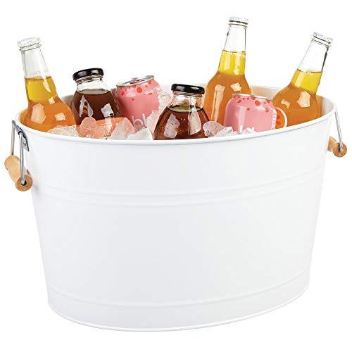 MDesign Champanera acero - Enfriador botellas decorativo