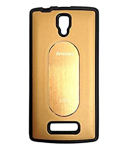 STYLE CASE BACK COVER FOR LENOVO A2010 GOLD