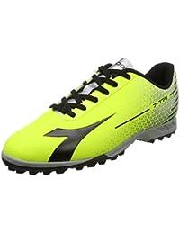Diadora Scarpe Calcetto Uomo - 7-Tri Tf - 172392-C3740 - Nero/bianco/giallo Fluo-40