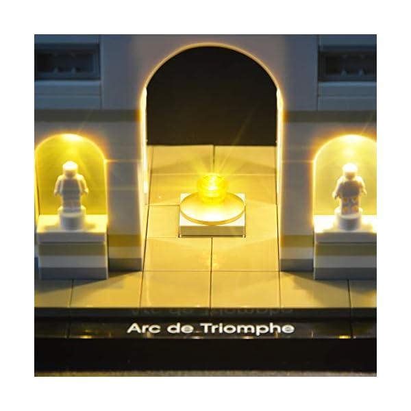 LIGHTAILING Set di Luci per (Architecture Arco di Trionfo) Modello da Costruire - Kit Luce LED Compatibile con Lego… 4 spesavip