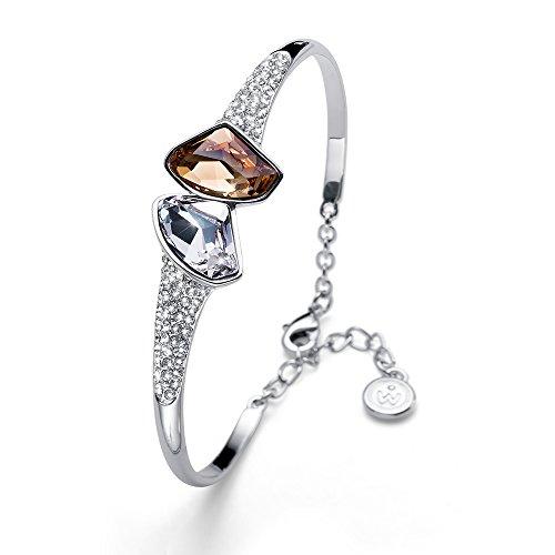 ce15e183acc00 Oliver Weber Bracelet Galactic rhod. Golden Shadow Crystals FROM Swarovski -