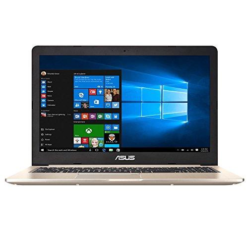 "ASUS VivoBook Pro N580VD-DM160T 2.8GHz i7-7700HQ 15.6"" Oro, Metallico Computer portatile"