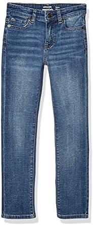 Amazon Essentials Boys fit Jeans, Doppler/Lavado Ligero, 8 años Slim