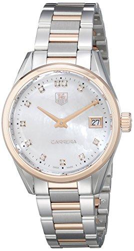 Tag Heuer Damen-Armbanduhr Schweizer Quarz