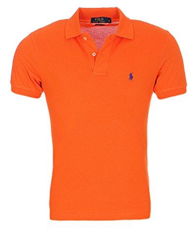 Ralph Lauren Poloshirt small pony, Custom Fit, S - XXXL verschiedene Farben NEU (L, Orang)