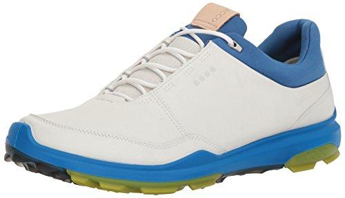 ECCO Mens Biom Hybrid 3 GTX, Scarpe da Golf Uomo, Bianco (White/Kiwi 50864), 42 EU