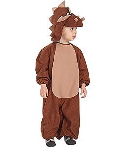 Carnival Toys 63033-Dino, Disfraz para bebé con Capucha, 1-2años