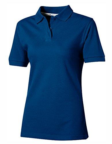 Slazenger Ladies Polo Piqué 100, Classic Royal Blue, XL (Polo Ladies Blue Classic)