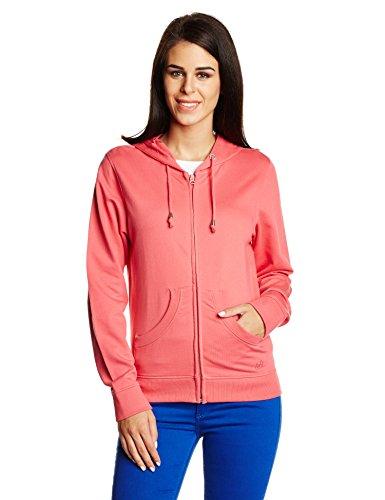 Wrangler Women's Cotton Button Down Sweatshirt