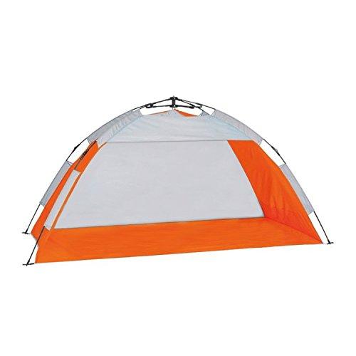 campersten Strandmuschel für die Ganze Familie | UV-Schutz UPF 50+ | XXL | Schattenwurf mit Kleinem Packmaß