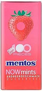 Mentos NOWmints Erdbeere Metalldose, 1er Pack (1 x 600 g)