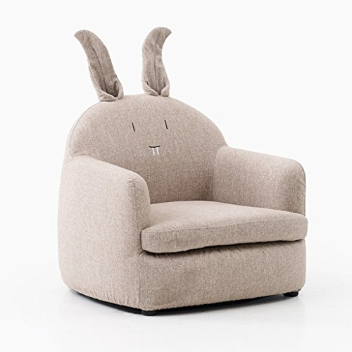 JIE KE Kinder Sofa Mädchen Prinzessin Kaninchen Mini Baby Stuhl Faul Sofa Sitz Cute Cartoon Faul...