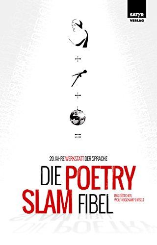 Buchseite und Rezensionen zu 'Die Poetry-Slam-Fibel' von Bas Böttcher