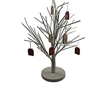 Un bel due parte albero composto da una base e rami. Forma e decorare per Pasqua o il vostro albero di Natale. Fa una bella centrotavola.Nota: le decorazioni non sono incluse nella vendita ma sono disponibili separatamente.