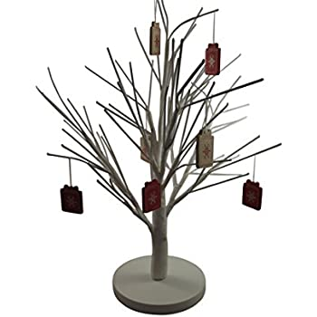 White Christmas Twig Tree - Beautiful Table Decoration
