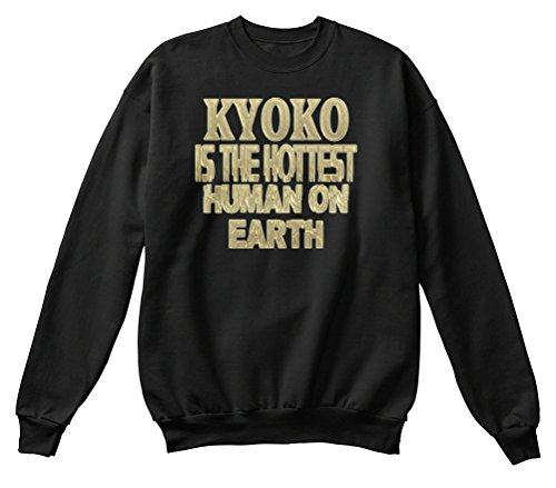 Teespring Men's Novelty Slogan Sweatshirt - Kyoko Hottest / Kyoko Sensationnel