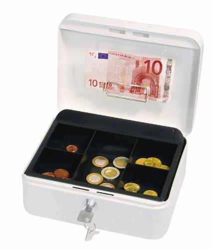 Wedo 145200H Gr. 2 Cassetta Portavalori con Clip, 20.2 x 16.0 x 9.0 cm, Bianco