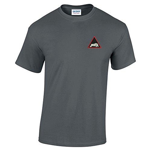 Pineapple Joe's Herren T-Shirt Anthrazit