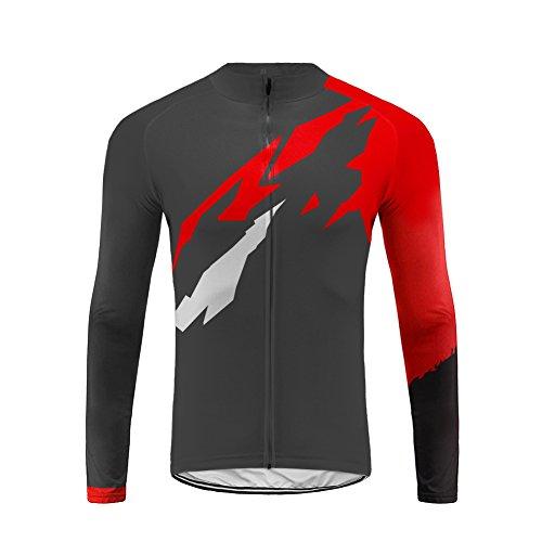 Uglyfrog HWCX02 2018 Winter Jersey Thermisches Fahrradtrikot Vlies Thermo Langarm Shirt Herren Breathable Radfahren Fahrrad Lange Hülsen Fahrrad Hemd Männer Langarm Fahrradbekleidung Radfahren