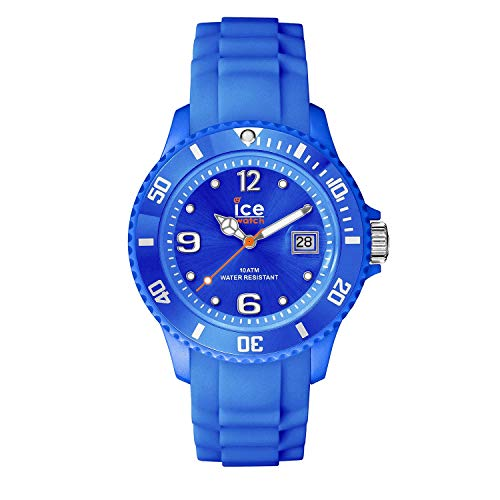 Ice-Watch - Ice Forever Blue - Blaue Herrenuhr mit Silikonarmband - 000145 (Large) (Männer Andacht)